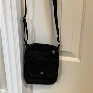 Woman's Joe Boxer Black Crossbody purse